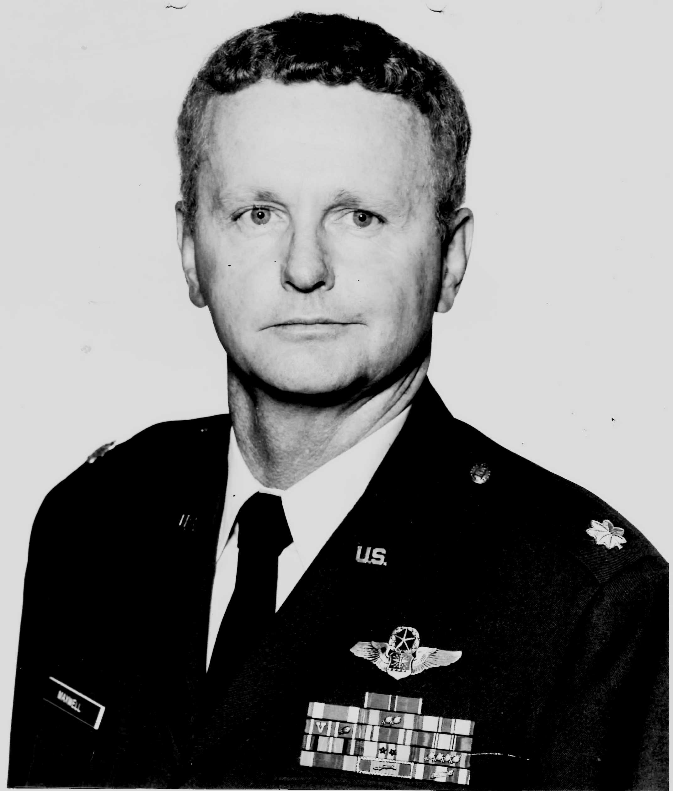 WILLIAM (BILL) NEWTON MAXWELL (LT. COLONEL RETIRED)