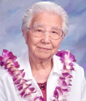 Sister Agnes Vera  Hino. O.S.F.