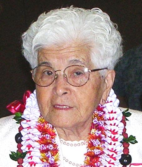Edna Hisako Isa (ne Higa)