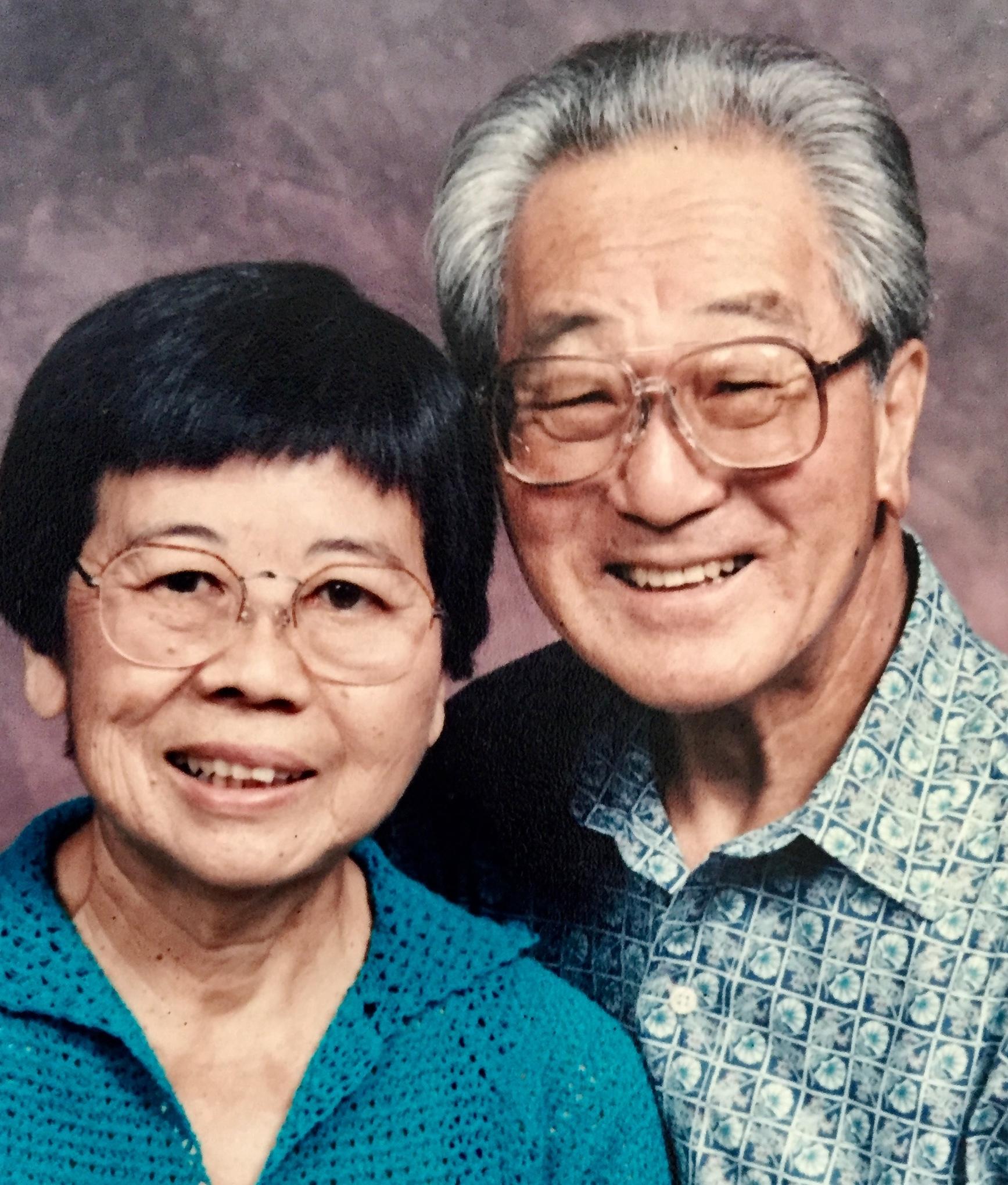 HIDEO WHITEY and KIYOKO YAMAMOTO