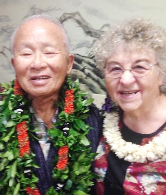 Senjin and Mary Ueunten