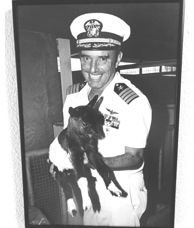 Capt. C. B.  Crockett Jr.  USN (RET.)